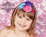 Ceria Flower Baby Headband